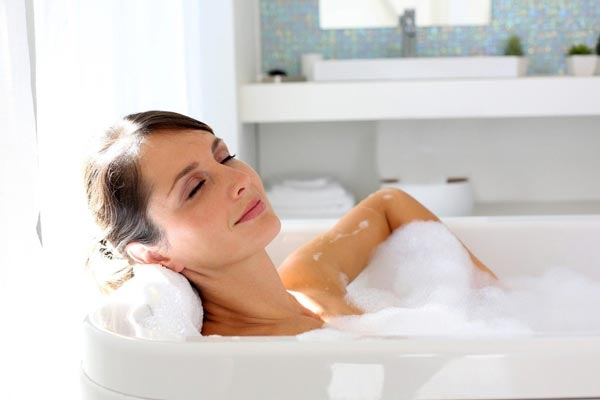 Hot Baths for fibromyalgia
